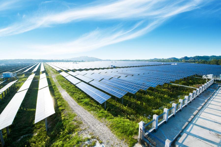 farma solarna - panele fotowoltaiczne
