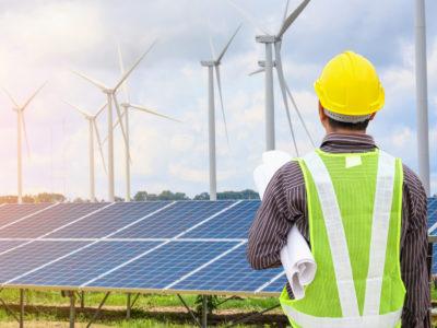 elektrownia wiatrowa i panele słoneczne kariera